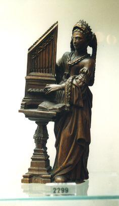 Antwerp, Museum Mayer van der Bergh, St. Caecilia