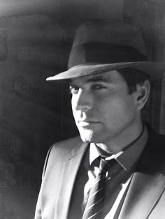 """""""From the set of #NCIS, Michael Weatherly does noir"""" ~Twitter.com / M_Weatherly"""