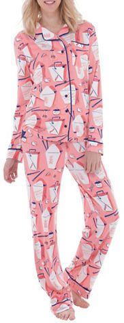Munki Munki Jersey Chinese Takeout Classic Pajama Set  https://api.shopstyle.com/action/apiVisitRetailer?id=531987451&pid=uid2500-37484350-28