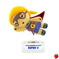 Harajuku Lovers Super G Eau De Toilette Spray (Limited Edition) 30ml/1oz #HarajukuLovers #Fragrance #Woman #StrawberryNET #Discount