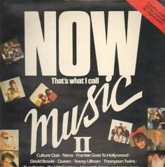 A look back at the Now albums in the inc. sleeve photos from Now LPs 1 to Now Dance and Now Smash Hits. Every Now album from the eighties. Beatles Gifts, Now Albums, Tracey Ullman, Frankie Goes To Hollywood, Thompson Twins, Trending Music, Culture Club, Artist Album, Cd Album