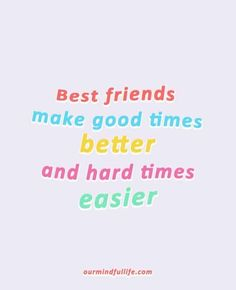 Only 1 in every 12 friendship stands the test of time. Celebrate your friendship with these heartening best friends quotes. Best Friend Quotes Deep, Best Friends Forever Quotes, Friend Quotes For Girls, Best Friend Quotes Meaningful, Besties Quotes, Best Friends For Life, Quotes Girls, Best Friend Sayings, Friendship Quotes For Girls Real Friends