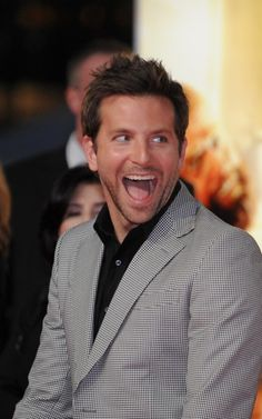 Bradley Cooper, being adorable.