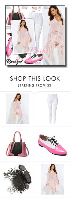 """""""Pink Sweater 41"""" by ramiza-rotic ❤ liked on Polyvore featuring Wet n Wild, nice, pinkSweater and rosegal"""