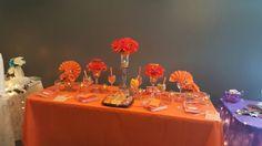 Rainbow Tea Orange Table