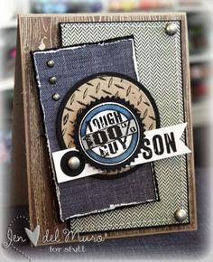 Super Cute Card - from iheart2stamp.com