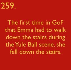 Harry Potter Facts - harry-potter  I dont know why this made me laugh so hard as it did.