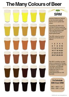 colours of beer