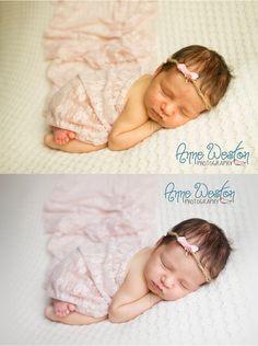Newborn Baby Photographer - Richmond - Newborn Editing Tutorial