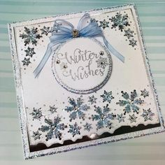 Stamps by Chloe - Winter Wishes - - Chloes Creative Cards Christmas Cards 2018, Xmas Cards, Christmas Themes, Christmas Crafts, Christmas 2019, Snowflake Cards, Snowflakes, Chloes Creative Cards, Stamps By Chloe