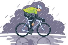 Riding in the rain is part of life on two wheels - no matter the time of year. There are ways to prepare, survive and recover from cycling in the rain.