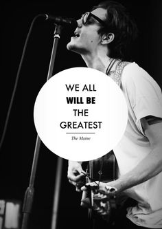 WE ALL WILL BE THE GREATEST!