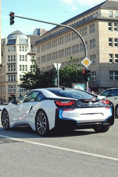 What an I8 from BMW