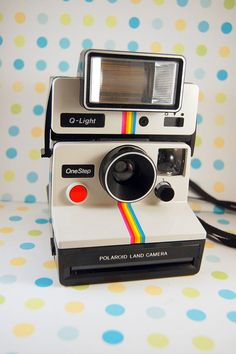 Polaroid SX70 One Step Land Camera and Q Light by TheRecycleista, $85.00