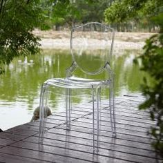 @Overstock - The Canali Crystal Clear chair is made from durable polycarbonate. One piece mould-injected construction creates a modern design for a chair that has a unique trophy back, shaped legs and a contoured seat.http://www.overstock.com/Home-Garden/Canali-Crystal-Clear-Polycarbonate-Chair-Set-of-2/6002785/product.html?CID=214117 $279.99