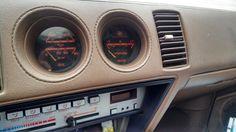 Turbo'd nissan 300zx z31 boost gage