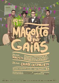 Magosto en Gaiás 2016 Movies, Movie Posters, Concerts, Fiestas, Museums, Films, Film Poster, Cinema, Movie