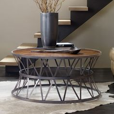 Hooker Furniture Chadwick Round Cocktail Table