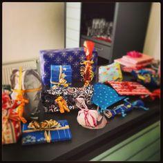 Unsere #Geschenke beim #Schrottwichteln. Wir hatten jede Menge #Spaß! :-) #xpsnet #xmas #team #weihnachten