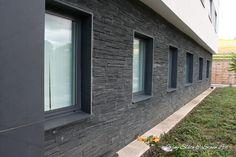 Welsh Slate Pillered Walling