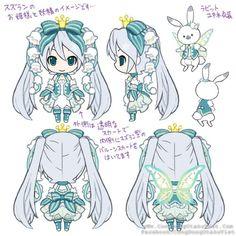 [NEWS] Cuộc thi Thiết kế trang phục Nendoroid Snow Miku 2015 - Hình ảnh chính…