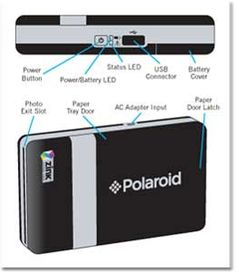 Polaroid CZA-20011B PoGo Instant Mobile Printer