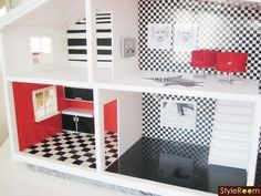 """Love this, might have to """"borrow"""" some ideas for Ella's dollhouse"""