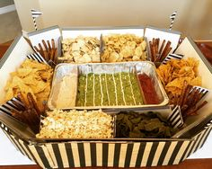 A snackadium for the Super Bowl