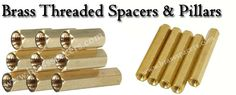 We are one of the leading Manufacturers of precision quality of #BrassThreadedSpacersandPillars, #BrassHexagonalFemaleSpacers, #BrassHexagonal, #MaleSpacers, #BrassRoundThreadedSpacers.Visit @ http://www.brassspacers.com/product/brass-threaded-spacers-pillars/