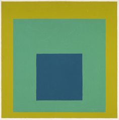 "Josef Albers, ""Homage to the Square""  Currently on view in the Ahmanson Building floor 2 © The Josef and Anni Albers Foundation / Artists Rights Society (ARS), New York"