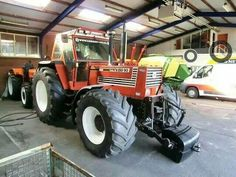 Fiatagri 180 - 90 with front linkage