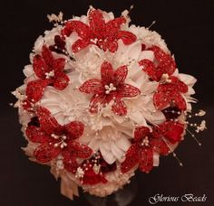 Lily-Bridal-Bouquet-Wedding-BEADED-FLOWERS-Red-Burgundy-White