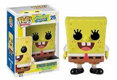 Coleção de bonecos Pop! de personagens do Bob Esponja: Já queremos!