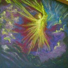 Michaelmas Chalkboard Drawing