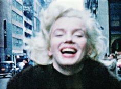 Marilyn Monroe in New York, 1955.