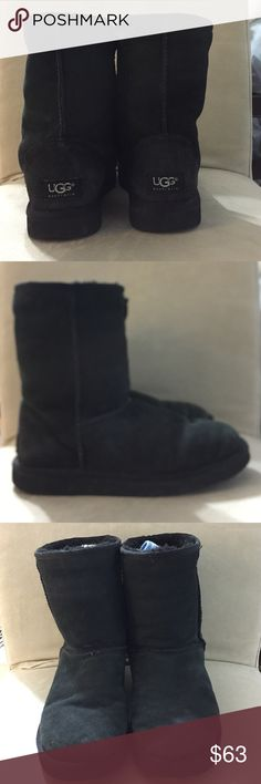 Solid Black UGG Australia boots Solid Black UGG Australia boots UGG Shoes Ankle Boots & Booties