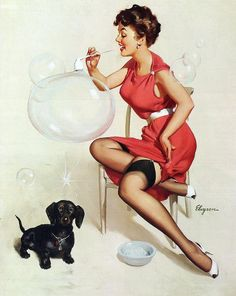 Blowing Bubbles by What Makes The Pie Shops Tick?, via Flickr
