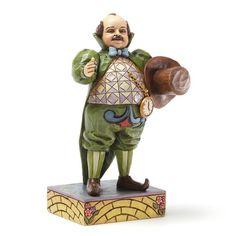 Enesco Jim Shore Wizard of Oz Mayor of Munchkinland Figurine, Wizard Of Oz Collectibles, Kraken Art, Ray Bolger, Wizard Of Oz 1939, Land Of Oz, Yellow Brick Road, Judy Garland, Over The Rainbow, Disney Cartoons
