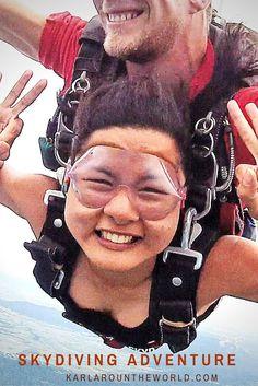 My favorite bucketlist adventure :  Skydiving in Mission Beach, Cairns Australia:
