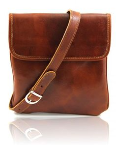 Joe - Leather Crossbody Bag Honey