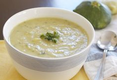 Simple Summer Squash Soup