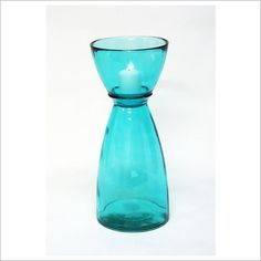 Recycled Hurricane Candle Holder (more colours available)