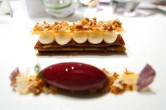 Heston Blumenthal | The Fat Duck (London) | caramelized apple, fennel, rose, candied lemon