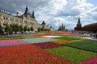 Rusya'nın başkenti Moskova'daki Kızıl Meydan'ın yanı başında bulunan alışveriş merkezi GUM'un açılışının 120. yıl kutlamaları çerçevesinde çiçek festivali düzenleniyor. Rengarenk çiçekler Kızıl Meydan'a ayrı bir güzellik kattı.