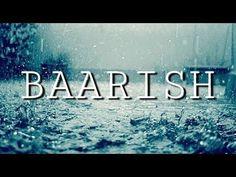 Rain Status, Song Status, Sunday Quotes Funny, Funny Girl Quotes, Romantic Love Song, Romantic Quotes, Barish Status, Barish Quotes, Youtube Vedio