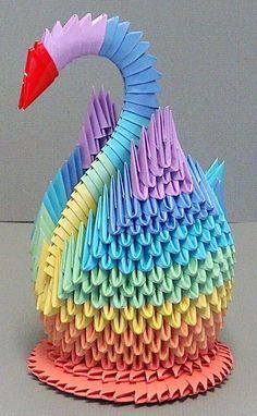 3D Origami: Swan