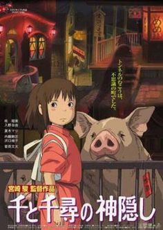 Spirited Away. I wish I could find the subbed version of this. I hate watching dubbed Anime :P