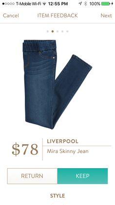 Liverpool Mira skinny jeans