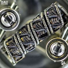 Custom Vape Coil ~ Coil Porn, Learn complicated coil wraps that produce huge plumes of vapor @vapediscount | 50K products at near wholesale | Free Worldwide Shipping | #vape #vapepen #SubmitYourBuild #vapemod