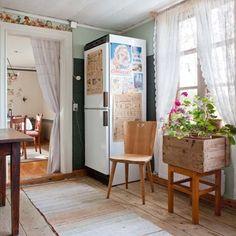 swedish country decor   Renoverat med återbruk - Allt i Hemmet   Swedish Country Style